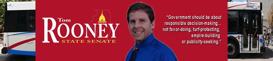 Senator Tom Rooney Masthead Image